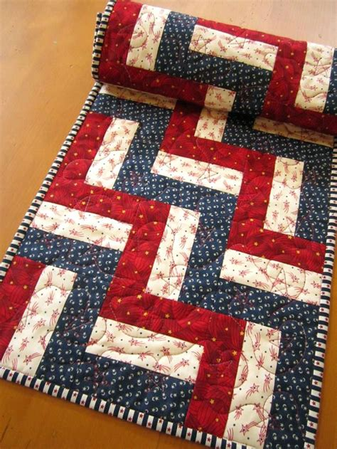 table runners patchwork patterns brokeasshome