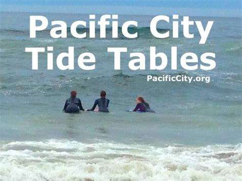 pacific city oregon tide table for july 4 2015