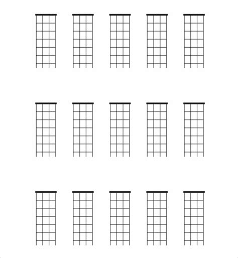 printable blank ukulele chord chart sle mandolin chord chart 6 documents in pdf