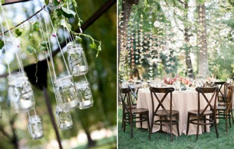Backyard Wedding Decorations Romantic Decoration Backyard Wedding Reception Ideas