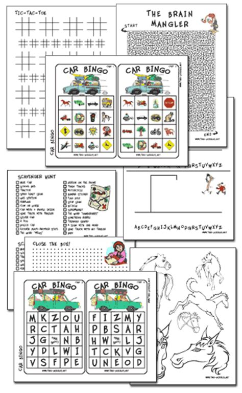 printable road games free printable travel games and activities money saving mom 174