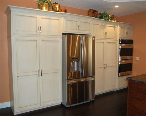 kitchen refrigerator cabinets fancy kitchen refrigerator cabinets greenvirals style
