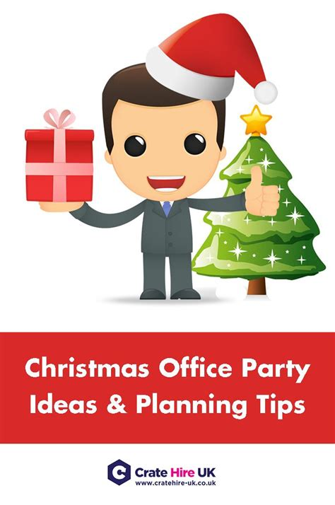 christmas office party ideas planning tips crate hire uk