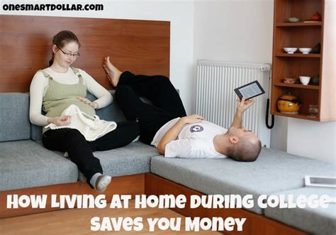 how living at home during college saves you money one