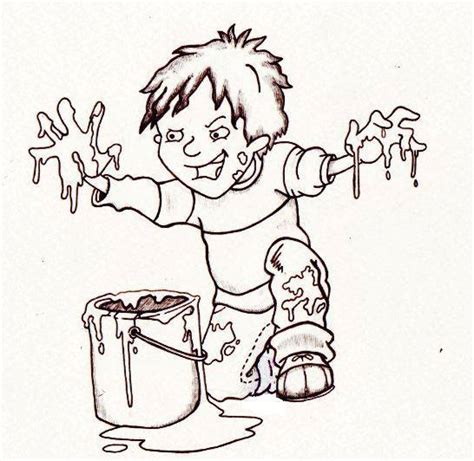 illustration of horrid henry by chris guest