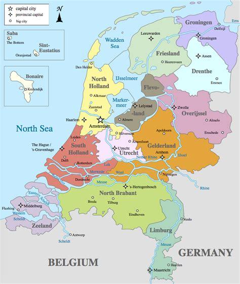 map   netherlands  dutch maps
