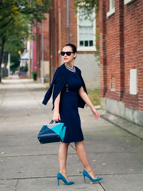 best shoes for navy blue dress style guru fashion