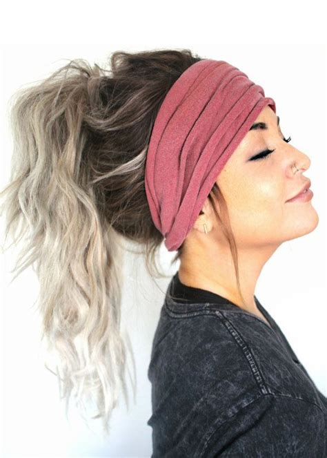 Hairstyles With Headbands by Best 25 Headband Hairstyles Ideas On Hair