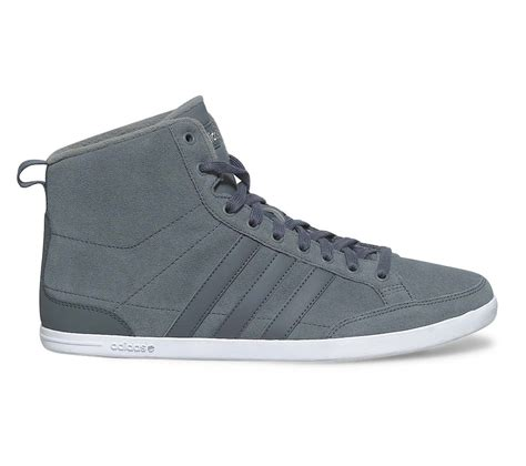 Adidas S Caflaire Sneakers adidas mens caflaire mid lead grey green hi top trainers
