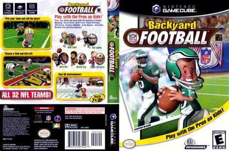 backyard football gamecube backyard football iso