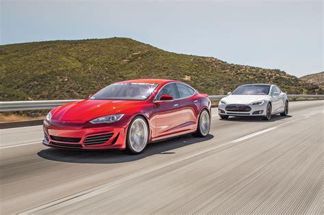 Tesla Saleen Shock Jocks Tesla Model S P85d And Saleen Gtx Comparison