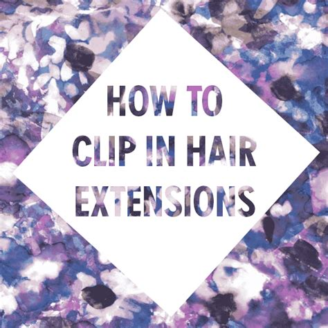 how to make clip how to make clip in hair extensions stay in your hair