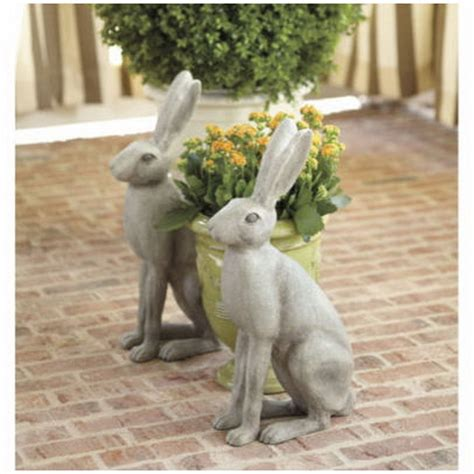 Garden Rabbits Decor Exclusive Outdoor Easter Decorations Family Net Guide To Family Holidays On The