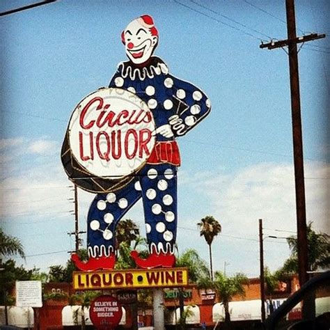 lighting stores in san fernando valley the giant circus liquors clown can t be missed even when