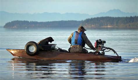 mud dog boat motor jon boat wavewalk s4 fishing kayak and micro skiff in