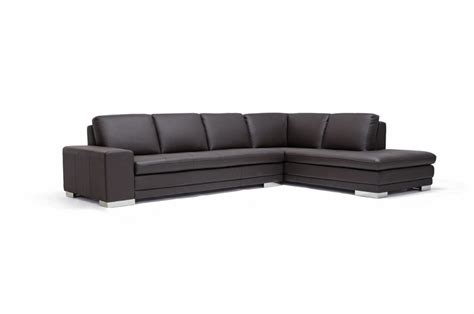 Wholesale Leather Couches by Callidora Brown Leather Leather Match Sofa Sectional Wholesale Interiors