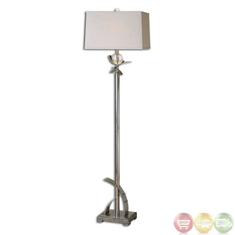 Home Design Studio Bassett cortlandt curved metal contemporary design floor lamp 28723