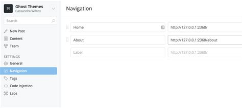 docker ghost tutorial how to add a custom page template to your ghost theme