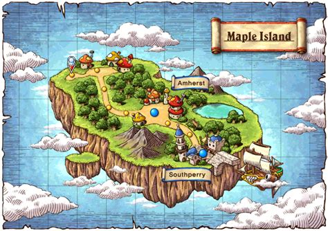 Island Maple Maplesea Info Map Starting Out