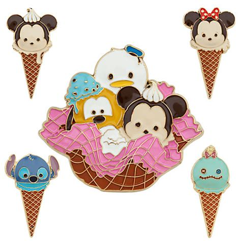 Custom Mickey N Friends Tsum Collection mickey mouse and friends tsum tsum limited edition pin set disney store