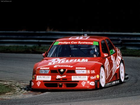 Alfa Romeo 155 2.5 V6 TI DTM (1993) pictures, information & specs
