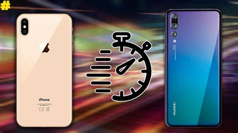 apple iphone xsxs max  huawei p pro speed test youtube