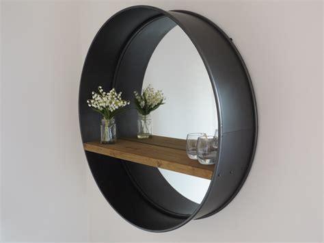 Small Industrial Desk by Retro Industrial Mirror