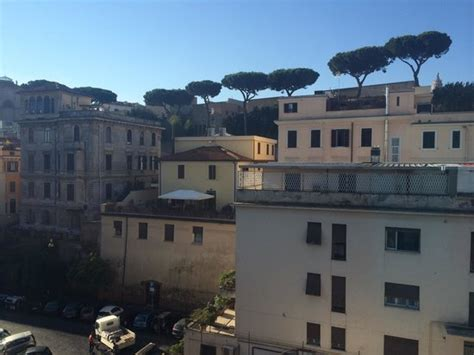 best western roma vaticano vatican walls view from window picture of best western