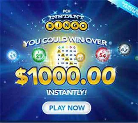 Bingo Pch - pchbingo com pch bingo 1 000 instant win