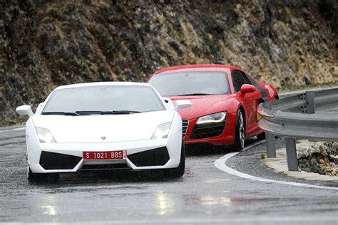 R8 Lamborghini Audi R8 V Lamborghini Gallardo Lp560 4 Pictures Evo