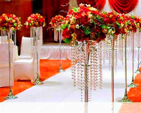 wedding centerpiece stands aliexpress buy table top chandelier walkway