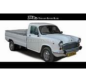 Rendered  HM Ambassador Pickup Truck