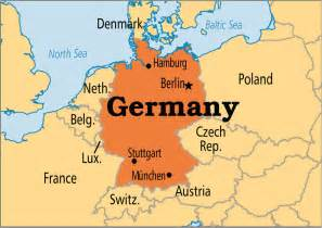 A Map Of Germany by Germany Operation World