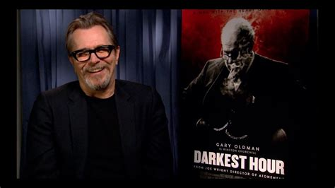 darkest hour gary gary oldman interview darkest hour youtube