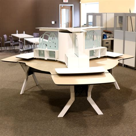Kimball Bedroom Furniture by Kimball Office Furniture 3 Person Workstation Morris