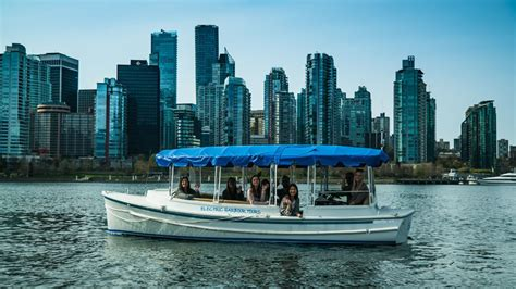 electric boat login vancouver electric boat tour of coal harbor on tourmega