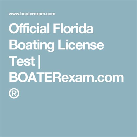 boating license florida the 25 best florida boating license ideas on pinterest