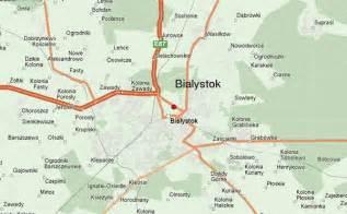 bialystok map białystok location guide