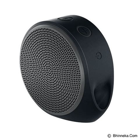 Original Logitech Mobile Wireless Speaker X100 Portable Dan Compact jual logitech mobile wireless speaker x100 984 000356 black grey grill murah bhinneka