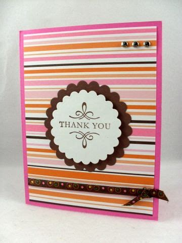 Ideas For Handmade Thank You Cards - handmade thank you card ideas