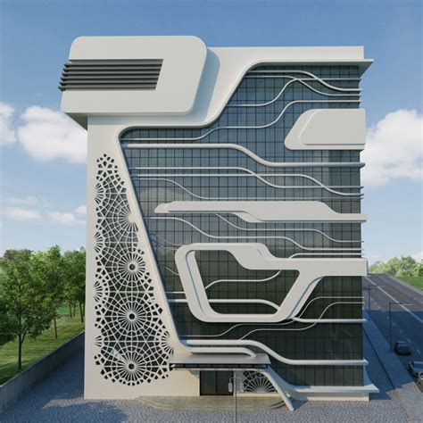 building concept office building of a gas company by naser nasiri and taher