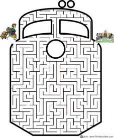 pics photos maze puzzles print