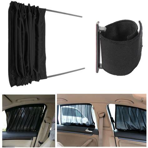 car life curtains singapore 2 x car auto valance window uv sunshade sunscurtains drape