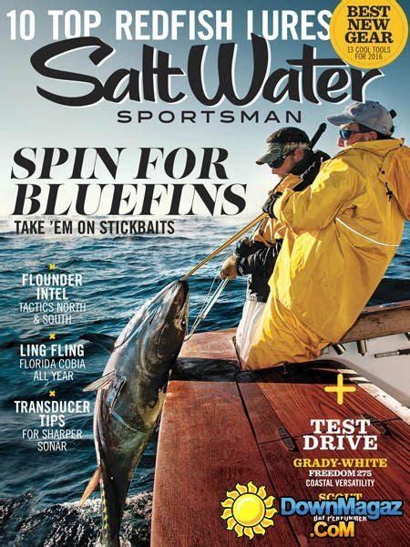 salt water sportsman march    magazines