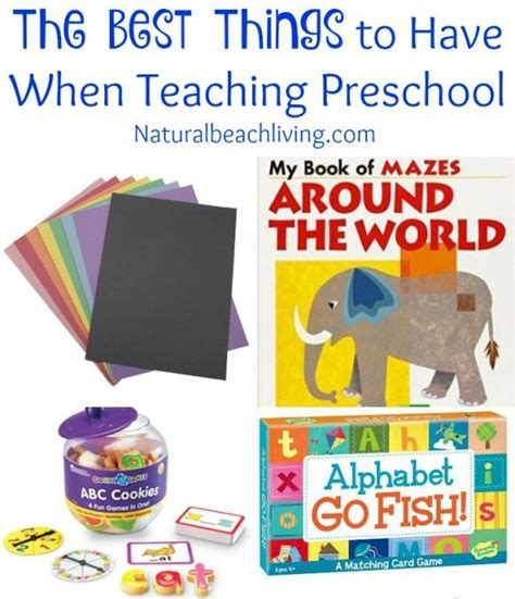 200 of the best preschool the best things to have when teaching preschool natural