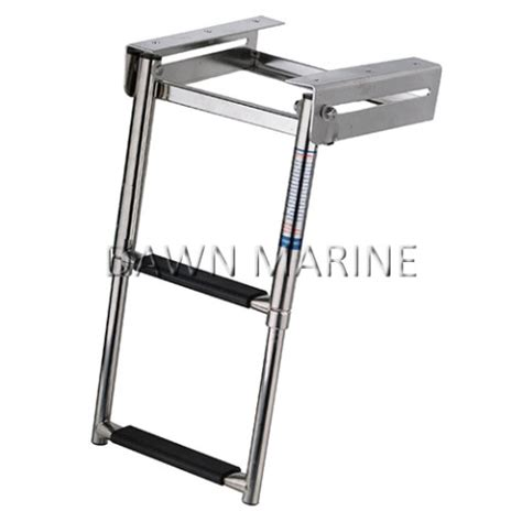 boat lights under swim platform ladders platforms dawn marine