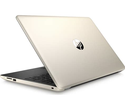 hp color laptops buy hp 15 bw550sa 15 6 quot laptop gold free delivery currys
