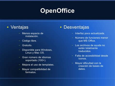 openoffice impress template download