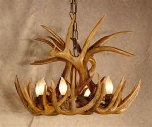 Deer Horn Chandelier Antler Lighting Fixtures Antler Furniture Antler Home Decor