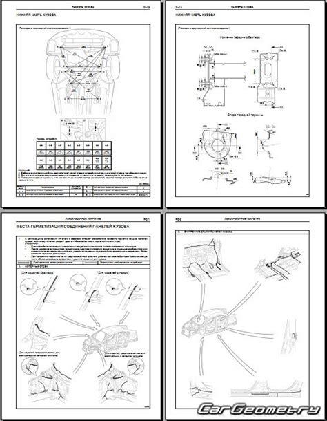 service manuals schematics 2009 toyota prius electronic toll collection геометрические размеры кузова toyota prius 3 2009 2015 zvw30 collision repair manual